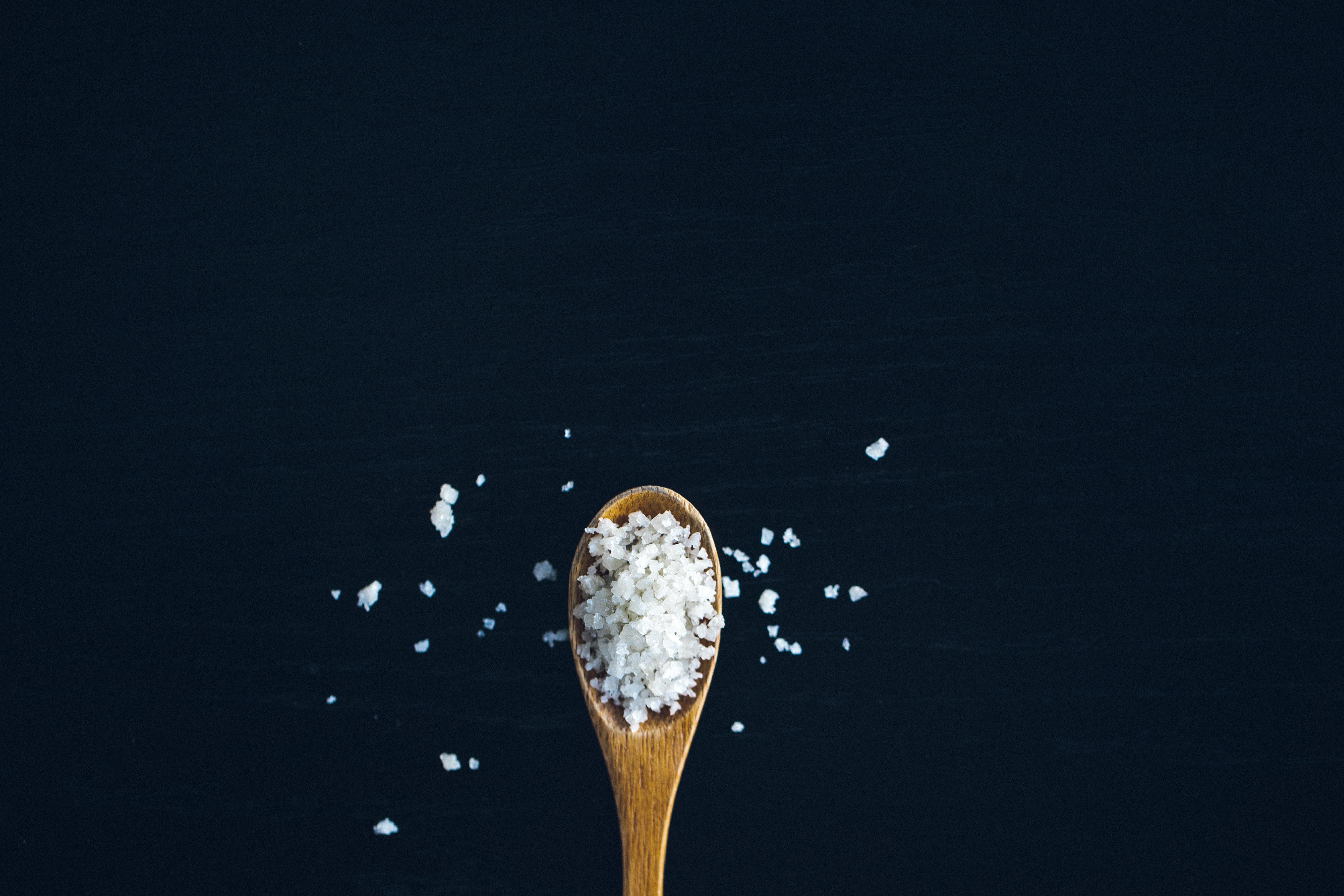 Salt in food